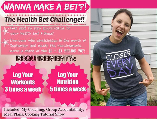 Beachbody Health Bet – Get Paid to Workout & Eat Clean!